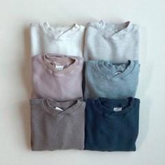 엔) 크로스와플 아동 티셔츠