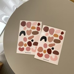 페블스티커 어텀 pebble stickers autumn