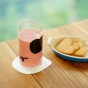 굿모닝 글라스 귀여운사과, 내열 유리컵