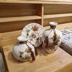 공간활용 꽃과 새 화병 468-6 세트CH1485555