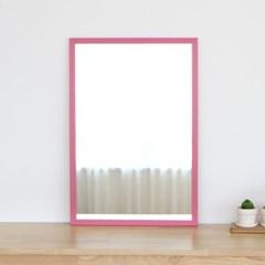 레인보우 사각 벽거울