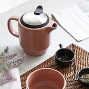 푸코 도자기 티팟 컵 세트_(1709401)