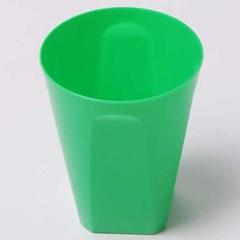 칼라 파티컵 사각-그린(6입)