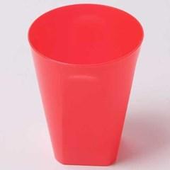 칼라 파티컵 사각-레드(6입)