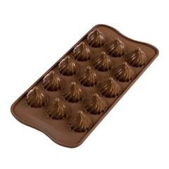 실리코마트 초콜릿만들기 얼음틀 초코몰드 불꽃_(1221319)