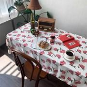 블랑로즈 식탁보 테이블보 2size 테이블러너
