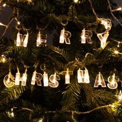 LED 전구캡 알파벳 MERRY CHRISTMAS 전구캡 TRLECV_(1456430)