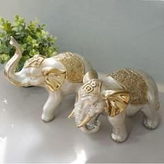 로즈골드 재물 복 행복 코끼리 2P