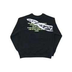 Intro sweat shirts_BLACK