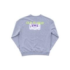 old tape sweat shirts_GREY