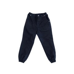 Dart jogger pants_BLACK