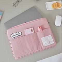레이지선데이 노트북파우치 13인치_Pink