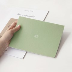[2020날짜형]20 Monthly planner_navy,green