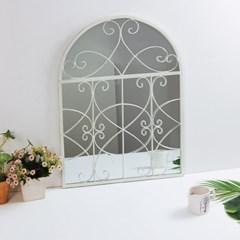 로시아 프로방스 창문 거울
