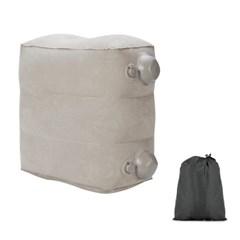 펌프식 에어 발쿠션 (3단) 발받침대 에어쇼파