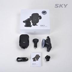스카이 15W 고속 차량용 무선충전거치대 SKY-P210