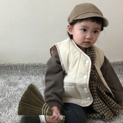 랄) 리안 아동 패딩조끼