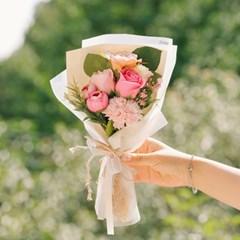 기억하겠습니다 성묘 꽃다발-비누꽃,카네이션,납골당,산_(100820004)