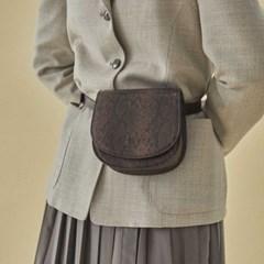 Kate 2way mini bag_snake brown