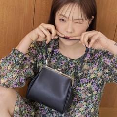 [9월18일 예약배송] Olsen frame mini bag_black