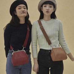 Olsen frame mini bag_red