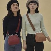 Olsen frame mini bag_camel