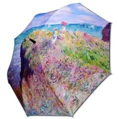 차광율99.9%암막카본초경량골프우양산_우블리-모네-푸르빌의 절벽