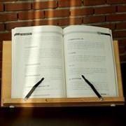 참나무 원목 수험생 학생 책 보조 거치 받침 독서 대_(1332741)