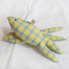 체크 피쉬 삑삑이 강아지 장난감 2color