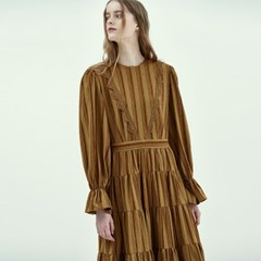 Bohemian Maxi Dress in Khaki