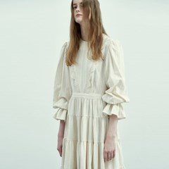 Bohemian Maxi Dress in Natural