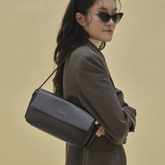 Emma baguette bag_black