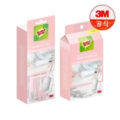 [3M]뉴 화장대용 먼지떨이 핸들+리필 3입_(2118247)