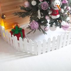 화이트 울타리 100x15cm 트리 크리스마스 TROMCG_(1462747)