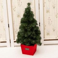 무장식 레드화분트리 60cm 트리 크리스마스 TRHMES_(1462396)