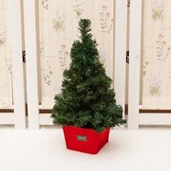 무장식 레드화분트리 45cm 트리 크리스마스 TRHMES_(1462395)