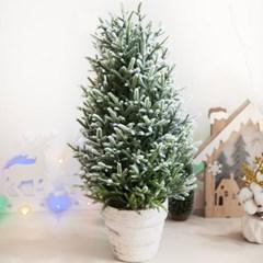 고급스노우스푸스트리 60cm 트리 크리스마스 TRHMES_(1462384)