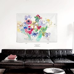 패브릭 포스터 명화 보테니컬 꽃 그림 액자 라울 뒤피 15