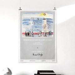 패브릭 포스터 명화 바다 풍경 그림 액자 라울 뒤피 12