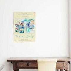 패브릭 포스터 명화 인테리어 천 그림 액자 라울 뒤피 9