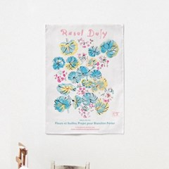 패브릭 포스터 명화 풍수 행운 꽃 그림 액자 라울 뒤피 6