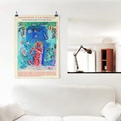 패브릭 포스터 명화 인테리어 천 그림 액자 라울 뒤피 4