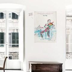 패브릭 포스터 명화 인테리어 천 그림 액자 라울 뒤피 2