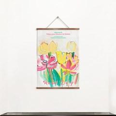 패브릭 포스터 명화 튤립 꽃 식물 그림 액자 라울 뒤피 1