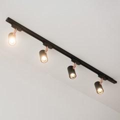 LED 히트 3w 레일 조명 1M 세트