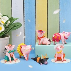 레나스 미니피그 미니피규어_Lena's  Mini Pig(박스)