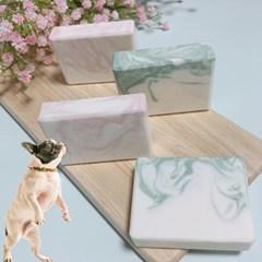 강아지목욕 애견샤워 모어펫 천연 수제 비누 60g 2종