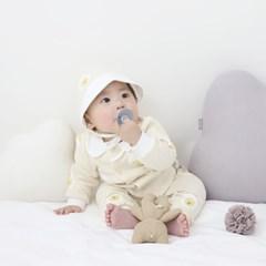 [메르베] 반숙이 신생아 아기내복/내의/유아실내복_겨울_(1333291)