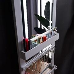 [Ldlab] 시크릿 LED 터치 악세서리 벽걸이 전신 거울_(1716292)