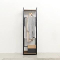 래티코 철제 드레스룸 시스템옷장 2단 600_(13678577)